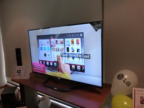 La presentaci n de la tecnolog a smart tv de lg estuvo a cargo de anail ch vez coordinadora de - Equipo musica casa ...